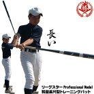 LEAGSTAR(リーグスター)ProfessionalModelトレーニングバット軽量長尺型