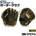 アシックス ゴールドステージ オーダーグラブ AHN4-01モデル 内野手用 硬式グローブ オーダー 野球 グローブ 硬式 オ…