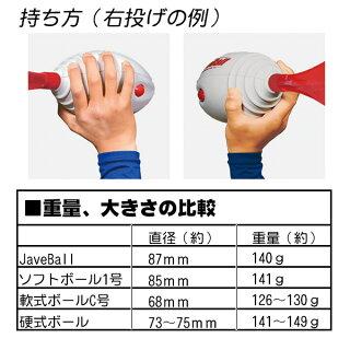 楽しく遠投の練習が出来る!ニシスポーツジャベボール野球トレーニング用品遠投スローイングヴォーテックスフットボール後継品JaveBallnt5201