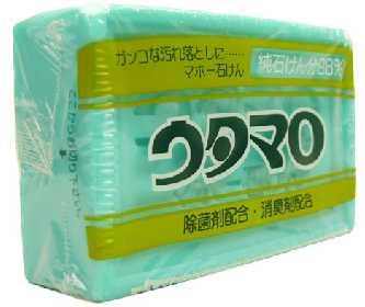 洗濯用石鹸・ウタマロ ガンコな汚れ落しに・・・ 純石けん分98% 洗剤