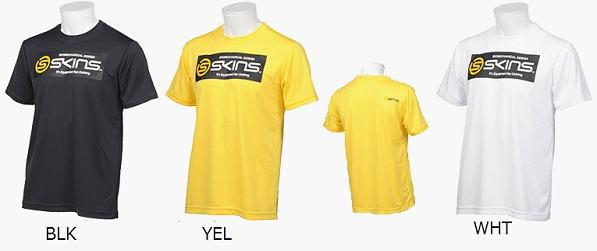 【送料無料】SKINS スキンズ ショートスリーブ Tシャツ 半袖 SAF2501