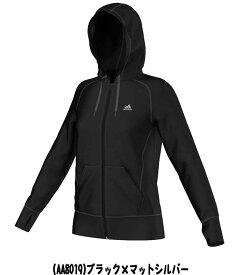 adidas アディダス フリース フルジップジャケット レディース パーカー ジャケット 女性用 トレーニング ジム ウェア フルジップパーカー フリースジャケット アウター トップス JXK81 AA8019 ★5900