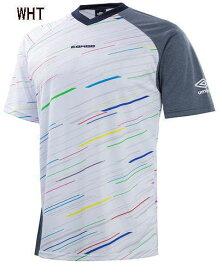 【実店舗共通在庫】umbro Jr.GARAプラクティスシャツ アンブロ ジュニア Tシャツ【メール便可160円(1枚まで)】フットサル トレーニングウェア ジュニアウェア スポーツウェア 子供 トップス 半袖シャツ ジュニアTシャツ サッカー 半袖Tシャツ UBS7762J ★2700