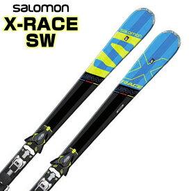 【あす楽対応可】サロモン ロッカースキー X-RACE SW + Z12 SPEED 板+ビンディング 2点セット 170cm 180cm 【即納OK】SALOMON L39952500 ●17-18
