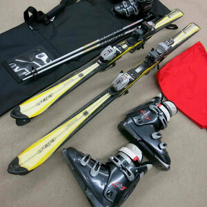 【往復送料無料】【レンタル】ジュニアカービングスキーシーズンレンタル【スキー・ブーツ・ストック】ブーツ25cm-30cm足の大きい小学生〜中高校生対応※多少デザインが変わる場合がありますレンタルスキーセット