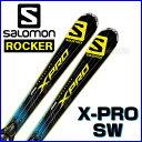 【あす楽対応可】◎2016サロモン ロッカースキー X-PRO SW+XT12 板+ビンディング 2点セット 155cm 【即納OK】SALOMON …