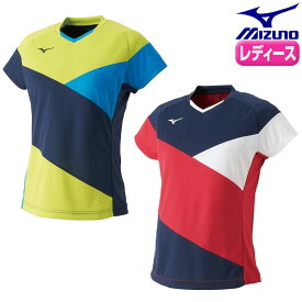 a8bdb4565201a ミズノ卓球 ドライサイエンスゲームシャツ(卓球)[レディース] 半袖 ドライサイエンス 【