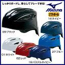 ミズノ ソフトボール用ヘルメット(キャッチャー用)1種・2種兼用【お取寄せ品 】1DJHC301 ●17