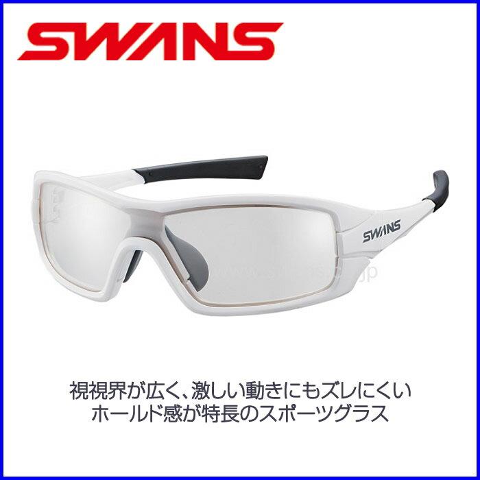 SWANS 高性能スポーツサングラスSTRIX・I-M【ミラーレンズ】ホワイト×ホワイト×グレー 山本光学 球技 自転車 スキー スノーボード 【お取寄せ品】STRIX I-0712 W スワンズ ●18