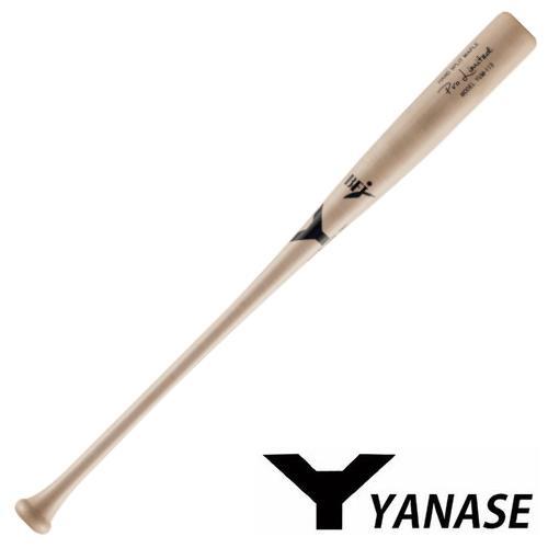 ヤナセ Yバット 硬式木製バット メイプル セミトップバランス BFJマーク入り バット 硬式用 木製バット YUM-113 ナチュラル