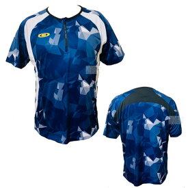 アクティブーム 野球 ハーフジップTシャツ 半袖シャツ トレーニングTシャツ ネイビー 半袖 中学生 高校生 大人 一般 高校野球 野球 ソフトボール