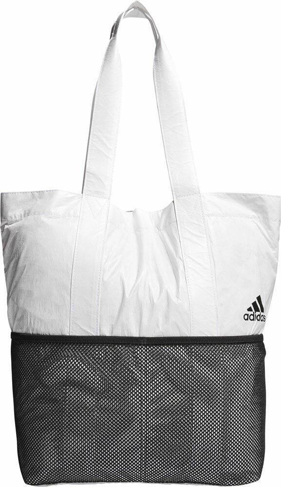 adidas(アディダス)マルチSPバッグパッカブル トートバッグ MaterialETX14WHT/BLK