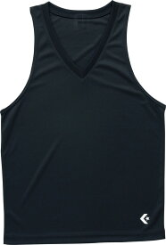 CONVERSE(コンバース)バスケットアンダーシャツゲームインナーシャツ(タンクトップ)CB251703ブラック