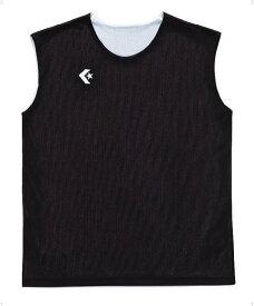CONVERSE(コンバース)バスケットレオタードウィメンズリバーシブルノースリーブシャツ CB33704CB33704ブラツク/ホワイト