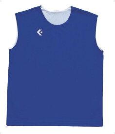 CONVERSE(コンバース)バスケットレオタードウィメンズリバーシブルノースリーブシャツ CB33704CB33704Rブルー/ホワイト