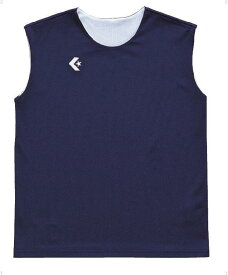 CONVERSE(コンバース)バスケットレオタードウィメンズリバーシブルノースリーブシャツ CB33704CB33704ネイビー/ホワイト