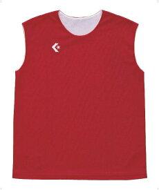 CONVERSE(コンバース)バスケットレオタードウィメンズリバーシブルノースリーブシャツ CB33704CB33704レッド/ホワイト