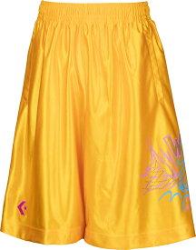 CONVERSE(コンバース)バスケットTシャツJRプラクティスパンツ ポケット付き ジュニア バスケットボールウェア ミニバスCB482802ゴールド