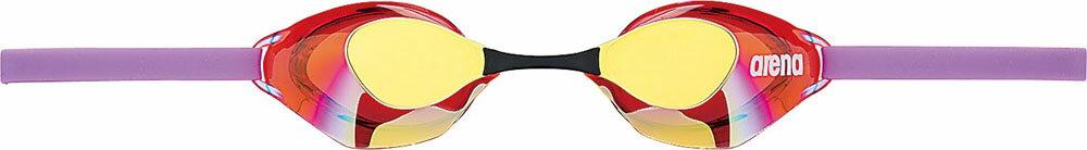 ARENA(アリーナ)水泳水球競技ゴーグル・サングラスくもり止めスイミンググラス ノンクッションタイプ ミラー加工AGL130MGRD