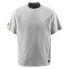 デサント(DESCENTE)野球&ソフトTシャツ丸首TシャツDB200シルバー