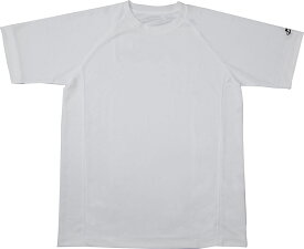 ファイテン(PHITEN)ボディケアRAKUシャツSPORTS(吸汗速乾)半袖ホワイト MJF899004