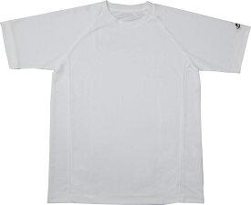 ファイテン(PHITEN)ボディケアRAKUシャツSPORTS(吸汗速乾)半袖ホワイト LJF899005