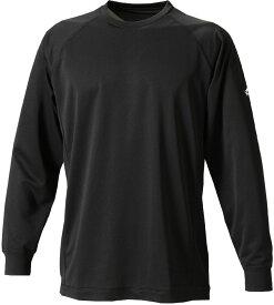 ファイテン(PHITEN)ボディケアRAKUシャツSPORTS(吸汗速乾)長袖ブラックMJF900104