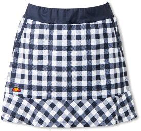 Ellesse(エレッセ)テニスゲームシャツ・パンツチームスカートETS2910LNYチェック