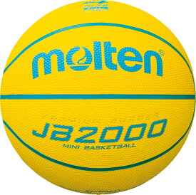 【19日20時から20日限定 P最大10倍】モルテン Moltenサッカー【小学生低学年用ミニバスケットボール4号球】 JB2000軽量ソフトB4C2000LY