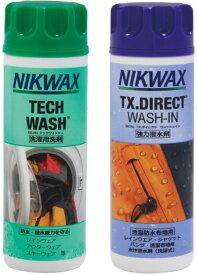NIKWAX(ニクワックス)アウトドアツインパック(テックウォッシュ・TX.ダイレクトWASH−IN)EBEP01