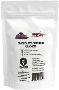 Chocolate coated big crickets チョコレートコオロギ TIU2002