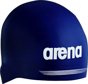 ARENA(アリーナ)水泳水球競技シリコンキャップ(AQUAFORCE 3D SHIELD) ARN−7400ARN7400NVY