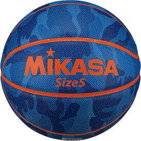 【19日20時から20日限定 P最大10倍】ミカサ MIKASAバスケットバスケットボール 5号球 カモ柄 ブルーB530YCFBL