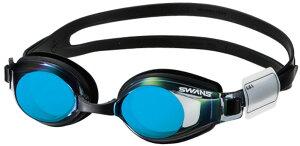 SWANS(スワンズ)水泳水球競技スイムグラス ミラーレンズ ジュニア SJ−24MSJ24MSMBL