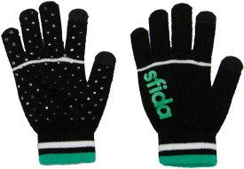 SFIDA(スフィーダ)フットサル手袋ニットグローブ OSF−19A02OSF19A02BLACK
