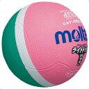モルテン(Molten)ハンドドッチボールライトドッジボール軽量2号 緑×ピンクSLD2MP