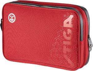 【20日限定P最大10倍】STIGA(スティガ)卓球卓球ケース HEXAGON BATWALLET DOUBLE  RED×BLACK(ヘキサゴンダブルラケットケース  レッド×ブラック)1418011581
