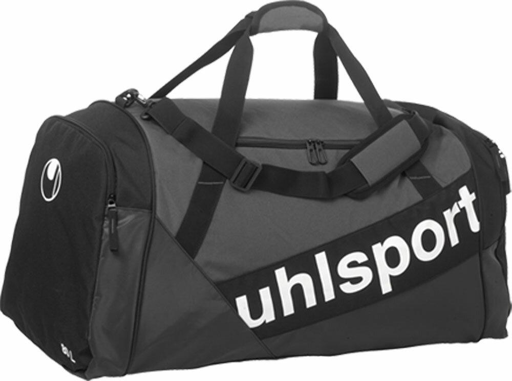 uhlsport(ウールシュポルト)サッカーバッグプログレッシブ ライン スポーツバッグ M1004235ブラック/アンスラ