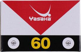 ヤサカ(Yasaka)卓球卓球練習球 ヤサカプラスペリオールボール ホワイト(60個入り)A53