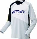 Yonex(ヨネックス)テニススウェット・トレーナライトトレーナー フィットスタイル 男女兼用 ユニセックス31034アイ…