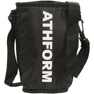 ATHFORM(アスフォーム) スクイズボトルケース フィットネス 健康 ボトル カバー ブラック AF-Y19-006-007