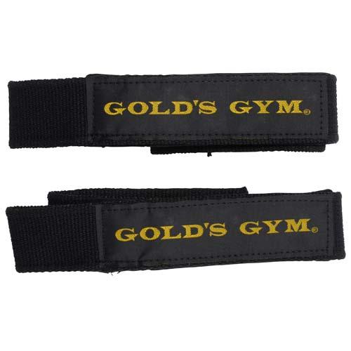 GOLD'S GYM(ゴールドジム) フィットネス リストストラップ ブラック G3500 BK
