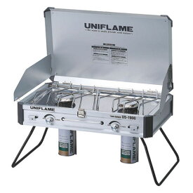 UNIFLAME (ユニフレーム) キャンプ用品 ガスバーナー ツインバーナー US-1900 610305