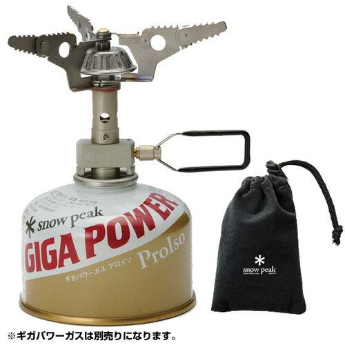 【送料無料】 Snow Peak (スノーピーク) キャンプ用品 ガスバーナー バーナー ギガパワー マイクロマックスウルトラライト GST-120R