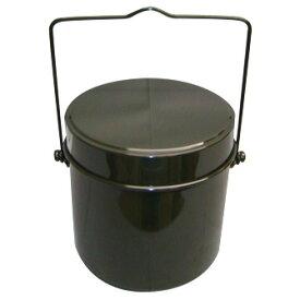 LOGOS (ロゴス) キャンプ用品 ファミリークックウェア 丸型飯盒ハンゴウ 五合炊き 81234300