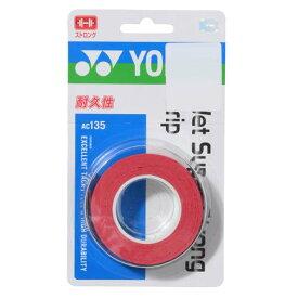 ● YONEX (ヨネックス) ラケットスポーツ グリップテープ ウエットスーパーストロングGRIP ワインレッド AC135