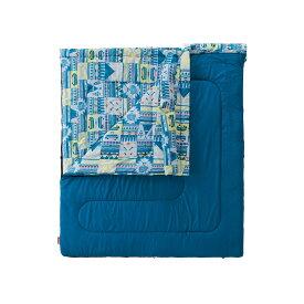 ● コールマン(COLEMAN) ファミリー2 IN1/C5 キャンプ用品 寝袋 スリーピングバッグ 封筒型 2000027257