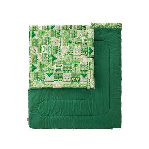 ● コールマン(COLEMAN) ファミリー2 IN1/C10 キャンプ用品 寝袋 スリーピングバッグ 封筒型 2000027256