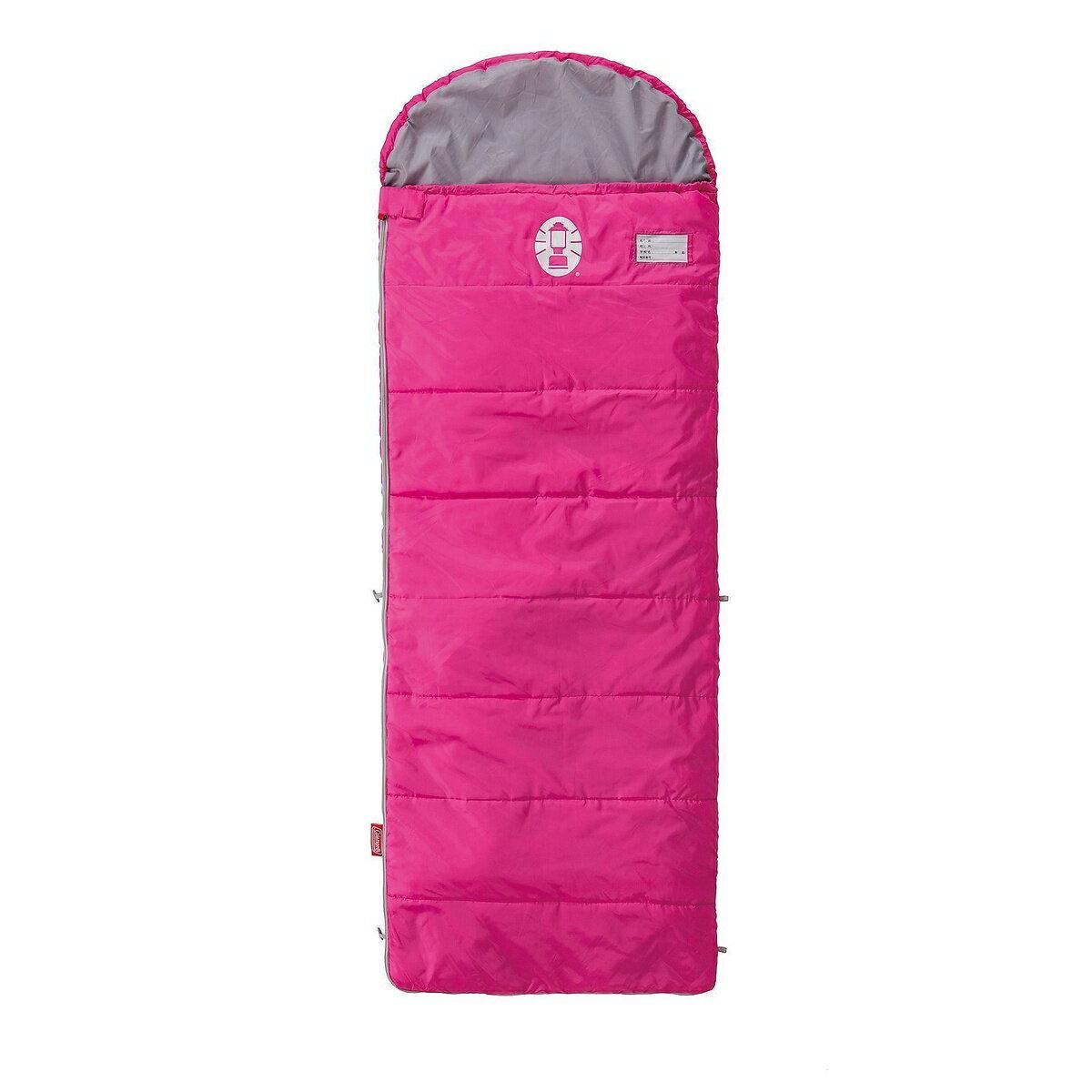 ● COLEMAN (コールマン) キャンプ用品 スリーピングバッグ 寝袋 ジュニア用 スクールキッズ/C10(ピンク) 2000027269
