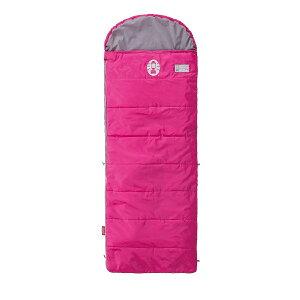 ● コールマン(COLEMAN) スクールキッズ/C10ピンク キャンプ用品 寝袋 スリーピングバッグ ジュニア用 2000027269